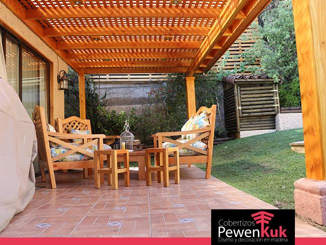 Cobertizos pewenkuk especialistas en terrazas y quinchos for Cobertizos de madera segunda mano