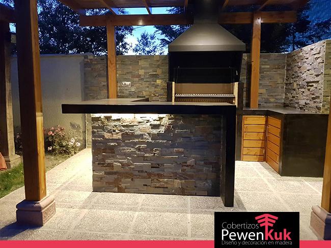 Los mejores quinchos y terrazas cobertizos pewenkuk for Cobertizos para terrazas