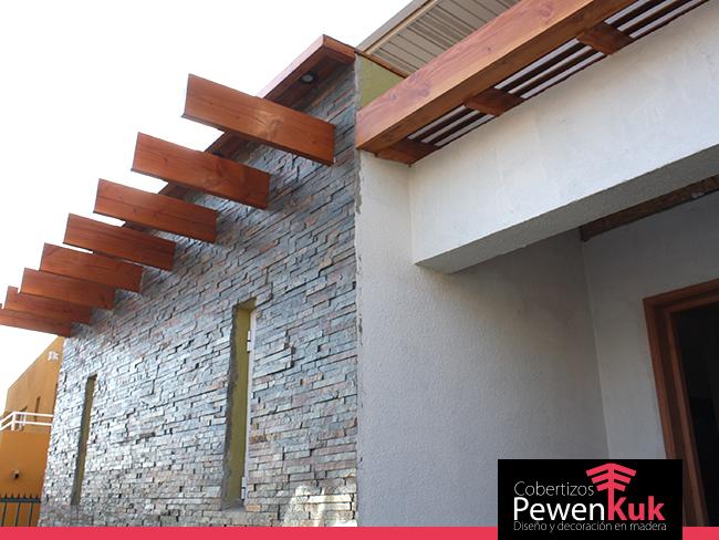 Proyecto integral madera en la casa cobertizos pewenkuk for Cobertizos de madera precios