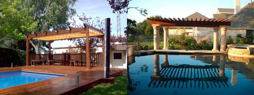 pérgola piscina 2