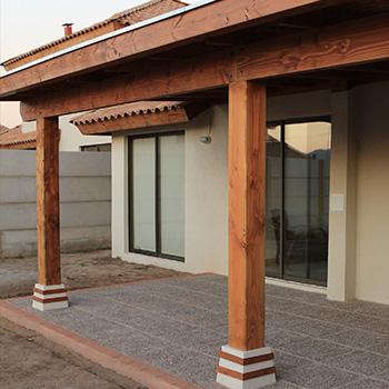 Cobertizos se realizan todo tipos de cobertizos en for Precios de cobertizos